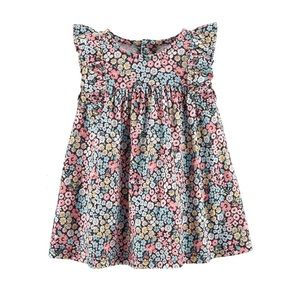 ✨Carters Floral Ruffled Dress 18 months